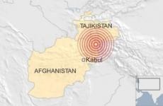 cutremur afganistan
