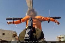 ISIS crucificati
