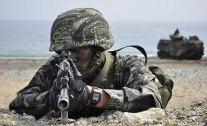 coreea de sud soldat