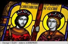 Icoana Constantin si Elena