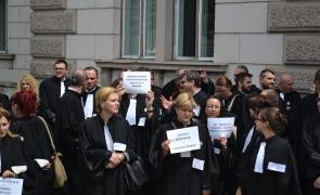 Protest avocati Cluj