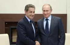 Nicolas Sarkozy Vladimir Putin