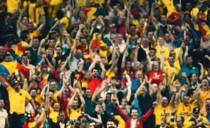 fani spectatori romania euro