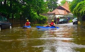 Cluj inundatii