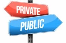 privat public