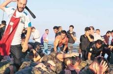 soldati armata turca batuti
