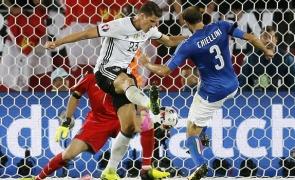 fotbal italia germania