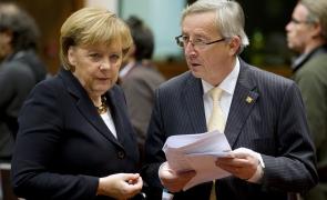 Angela Merkel Jean Claude Juncker