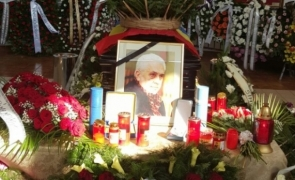 Nicolae Marasescu inmormantare