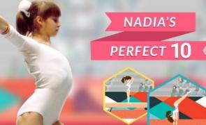 joc Nadia Comaneci