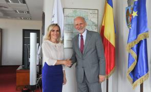 Gabriela Firea ambasador Austria