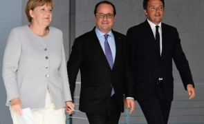 hollande merkel renzi