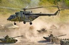 caucasus tancuri eliocoptere razboi