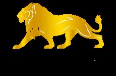 golden lion leul de aur