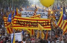 protest catalonia