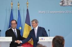 Inquam Francois Hollande Dacian Ciolos