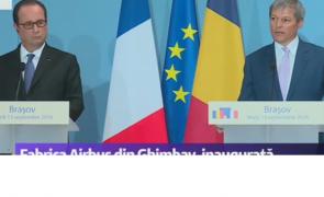 Dacian Ciolos Francois Hollande