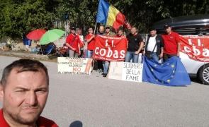 șoferi români greva foamei Italia