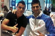 Cristiano ROnaldo Novak Djokovic