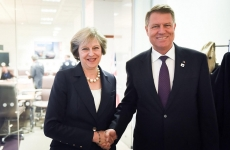 Klaus Iohannis Theresa May