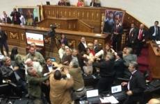 bataie parlament Venezuela