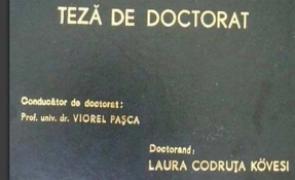teza kovesi doctorat