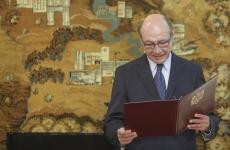 Inquam Traian Băsescu depunere juramant moldova