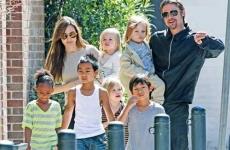 Bradd Pitt Angelina Jolie copii