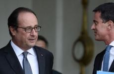 Francois Hollande  Manuel Valls