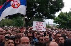 belgrad serbia protest