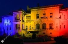 Palatul Cotroceni in tricolor