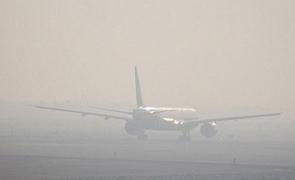 avion ceață