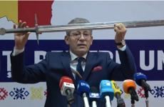 Mihai Ghimpu sabie
