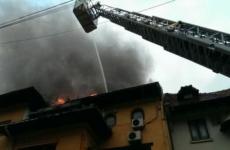 incendiu mansarda capitala