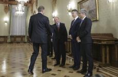 Inquam Traian Băsescu Klaus Iohannis Băsescu consultări Cotroceni