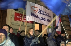 polonia protest