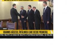 Basescu Iohannis consultari