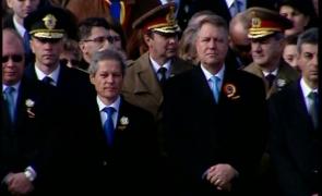 Iohannis Cioloș parada 1 decembrie