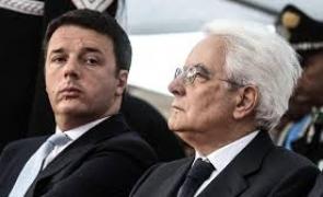 Sergio Mattarella Matteo Renzi