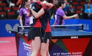 Adina Diaconu Andreea Dragoman tenis de masa