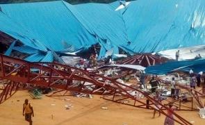 biserică prăbușită Nigeria