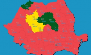 harta judete alegeri parlamentare