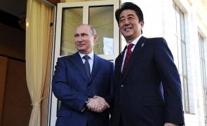 Putin si Abe