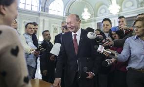 Inquam Traian Băsescu senator
