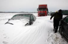 ninsoare autostrada