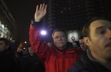 Inquam Klaus Iohannis la proteste