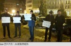 protest Bistrita