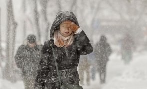 zapada viscol iarna