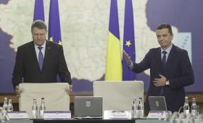 Klaus Iohannis Sorin Grindeanu guvern