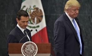 Pena Nieto, Donald Trump